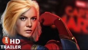 Video: Captain Marvel Movie 2019 Brie Larson Teaser Trailer